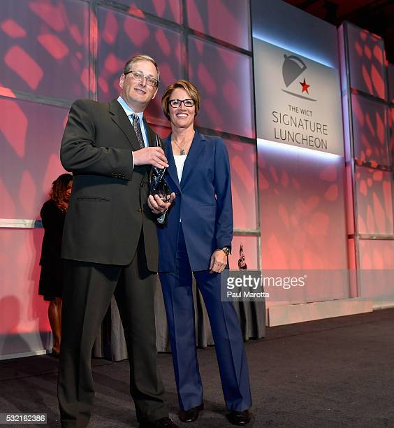 President and Chief Revenue Officer for Atlantic Broadband David Isenberg receives the PAR Best Companies for Women in Cable Award from NBC Olympic...