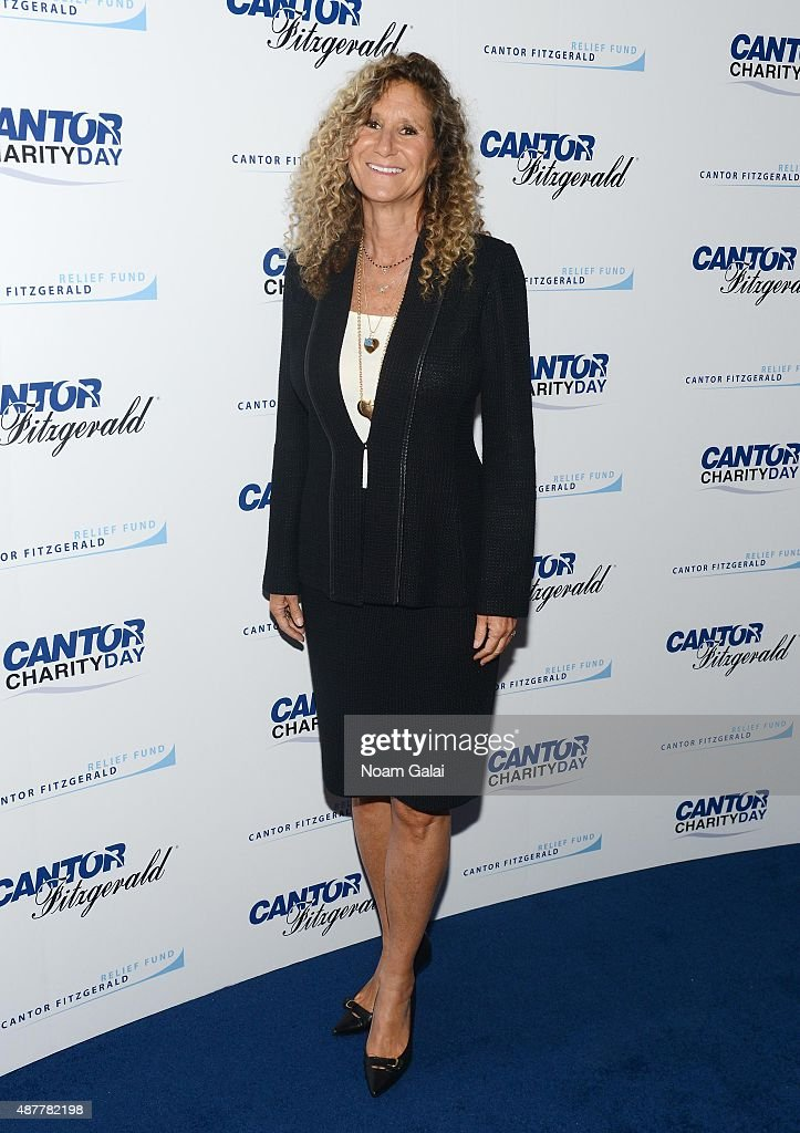 President and Co- Founder of the Cantor Fitzgerald Relief Fund Edie Lutnick attends the annual Charity Day hosted by Cantor Fitzgerald and BGC at Cantor Fitzgerald on September 11, 2015 in New York City.