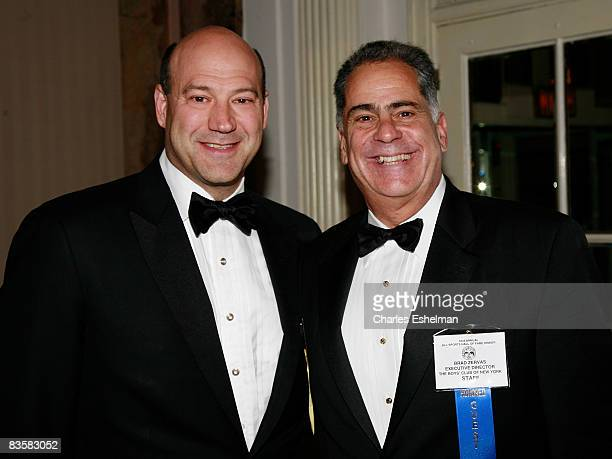 President and CoCOO of Goldman Sachs Gary D Cohn and Boys Club Executive Director Brad Zervas attend the 33rd Annual Boys Club All Sports Hall of...