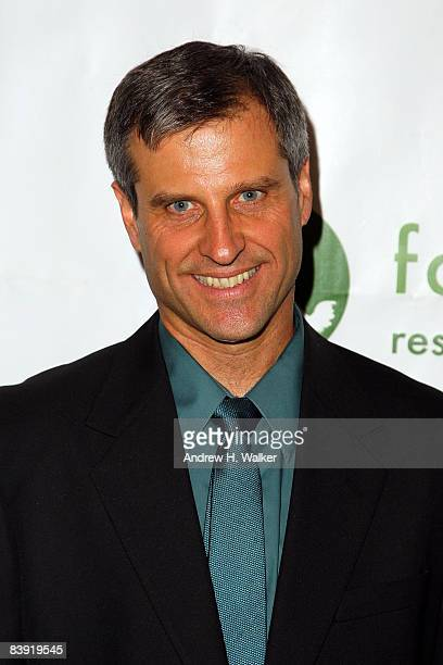 President and cofounder of Farm Sanctuary Gene Baur attends Winter Wonderland for the Animals A Farm Sanctuary Benefit at the Art Directors Club on...