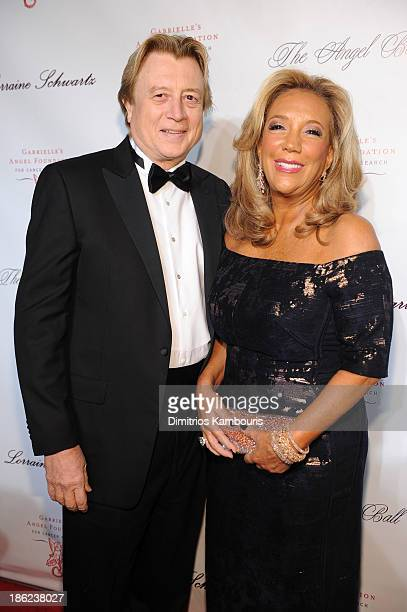 President and Cofounder of Gabrielle's Angel Foundation Denise Rich and Niels Lauersen attends Gabrielle's Angel Foundation Hosts Angel Ball 2013 at...