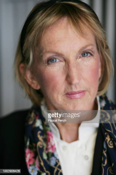 President and cofounder of PETA President Ingrid Newkirk is photographed for the Financial Times on November 1 2008 in PETA's headquarter in Norfolk...
