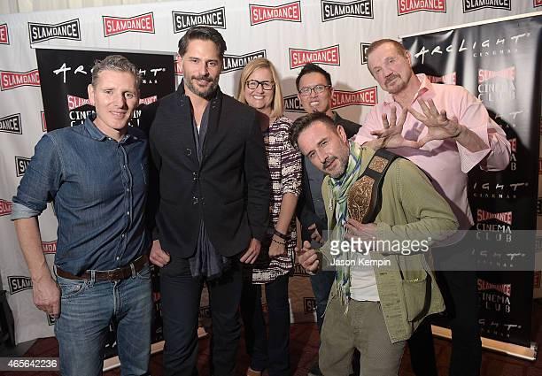 President and cofounder of Slamdance Peter Baxter actor Joe Manganiello Executive Vice President of Cinema Programming for ArcLight Gretchen McCourt...