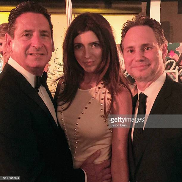 President and COO at Fontainebleau Miami Beach Phil Goldfarb Major Accounts Manager at Houston Chronicle Jeana Stone and Jason Binn circa April 2016...