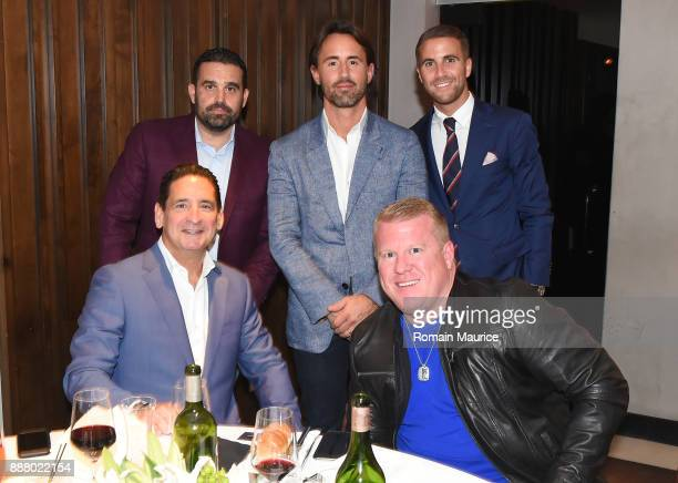 President and COO Fontainebleau Resort Miami Beach Phil Goldfarb Seth Leminof Jay Rutland David Boothe RNDC and Victor Blanquard attend Haute...