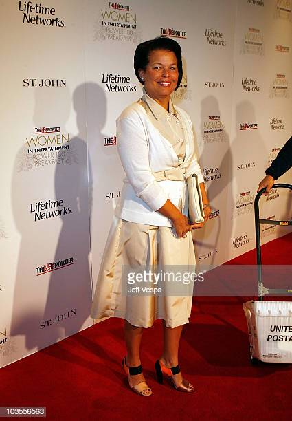 President and COO of BET Holdings Debra L Lee at the Hollywood Reporter Power 100 Breakfast at The Beverly Hills Hotel on December 4 2007 in Beverly...