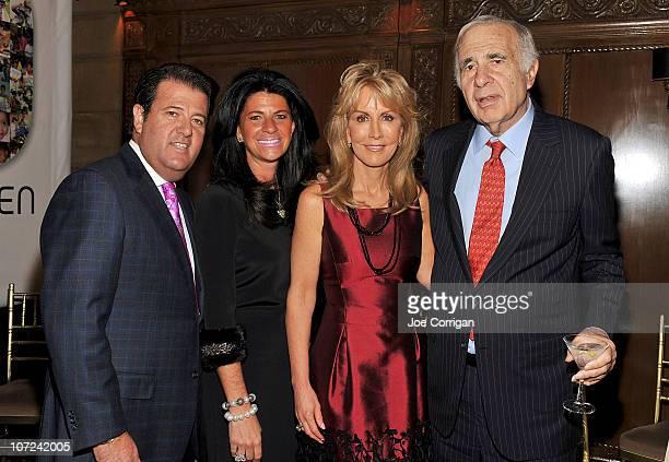 President and COO Perry Ellis Corp Oscar Feldenkreis wife Ellen Feldenkreis Gail Icahn and financier Carl Icahn attend the KIDS 25th Anniversary Gala...