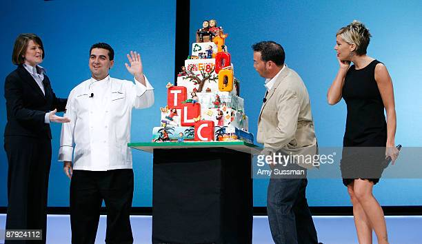 President and general manager of TLC Eileen O'Neill television personality Buddy Valastro of TLC's 'Cake Boss' and television personalities Jon...