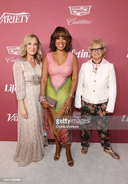 President and Group Publisher of Variety Michelle Sobrino-Stearns, Gayle King, and Editor-in-Chief of Variety Claudia Eller attend Variety's Power of...