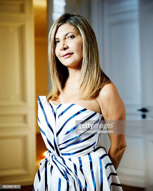 President and managing director of Etoile Group Ingie Chalhoub for Madame Figaro on September 16 2015 in Paris France CREDIT MUST READ Lea...
