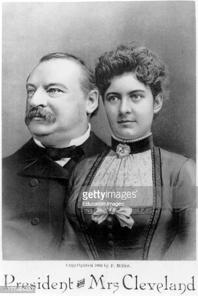 President and Mrs Cleveland F Miller 1893