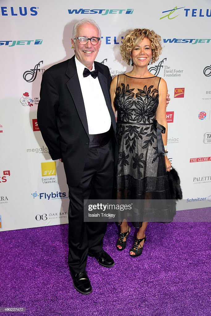 President and Vice Chancellor of Ryerson University, Sheldon Levy and wife Tracy Levy arrive at the David Foster Foundation Miracle Gala And Concert at Mattamy Athletic Centre on September 26, 2015 in Toronto, Canada.