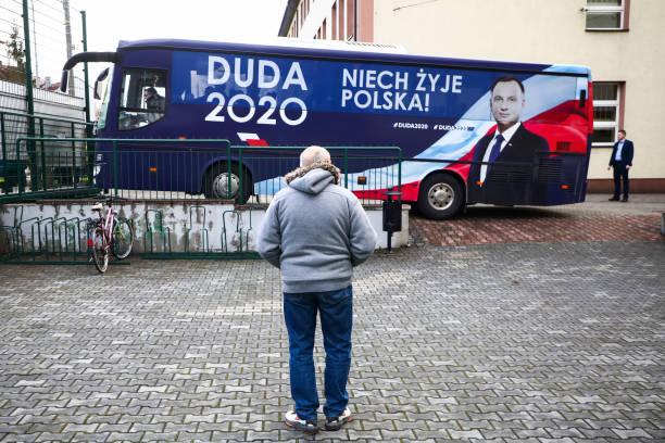 POL: Andrzej Duda Campaigns In Presidential Election
