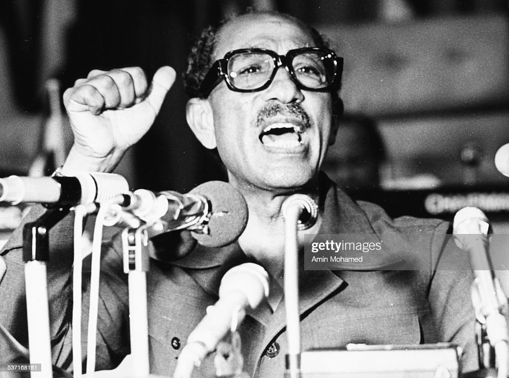 EGY: 25th December 1918 - Former Egyptian President Anwar Sadat Born