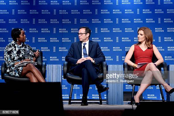 President Ariel Investments/Chairman DreamWorks/Animation SKG Inc Mellody Hobson President Creative Artists Agency Richard Lovett and Senior Media...