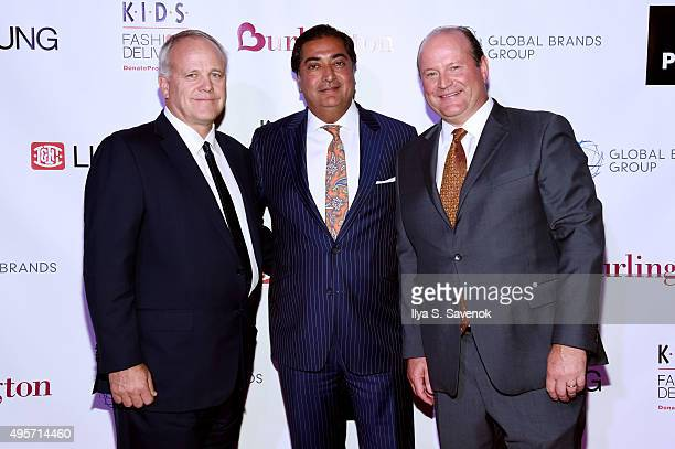 President at Wells Fargo Capital Finance Stuart Brister Owner of Taresha LLC Haresh Tharani and Chief Operating Officer of Global Brands Group Dow...