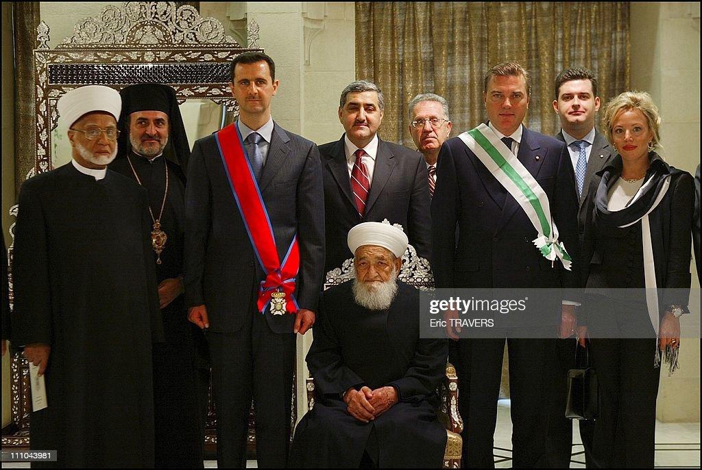 President Bachar Al Assad, His...