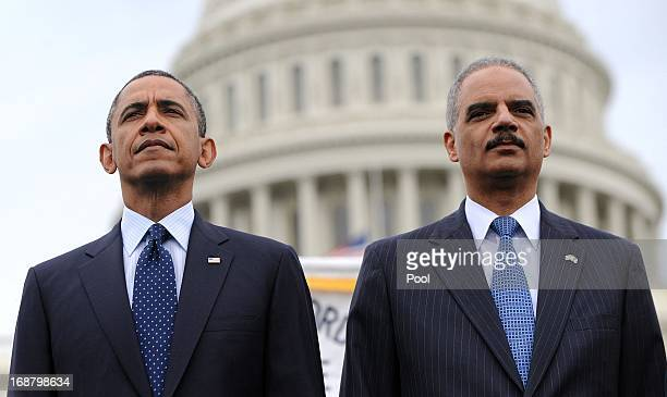 Image result for eric holder, barack obama, photos