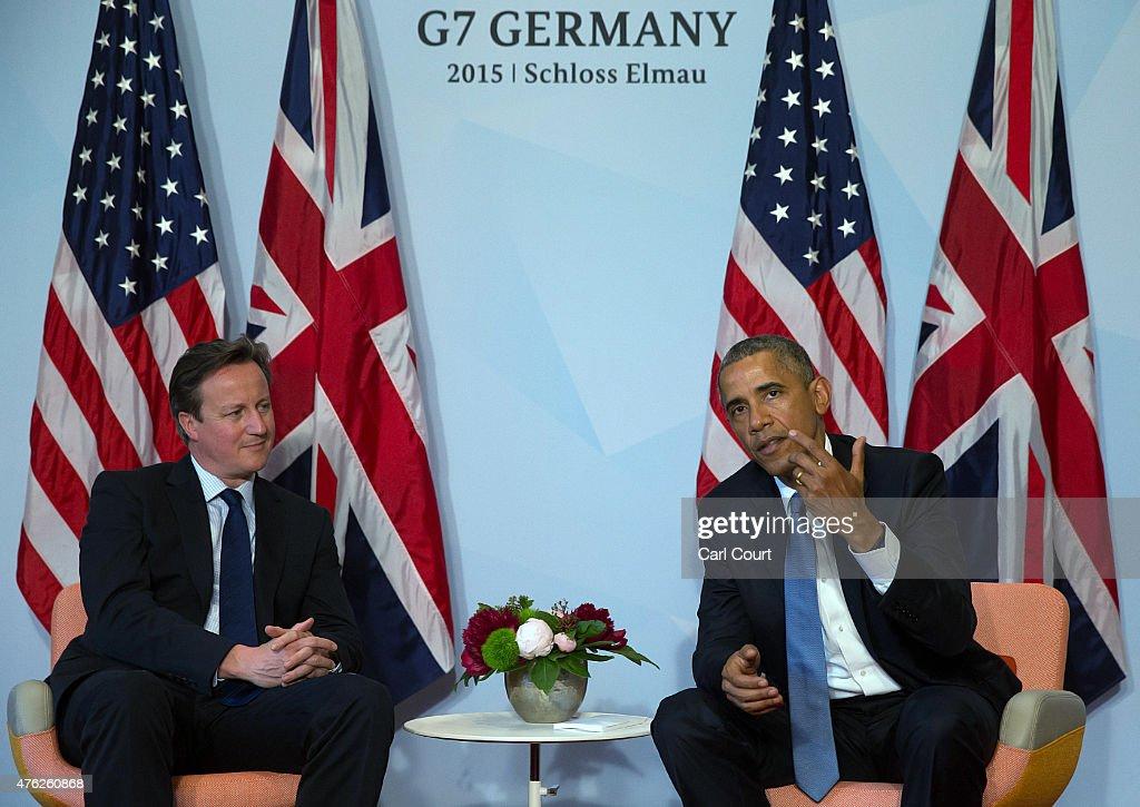 G7 Leaders Meet For Summit At Schloss Elmau : News Photo