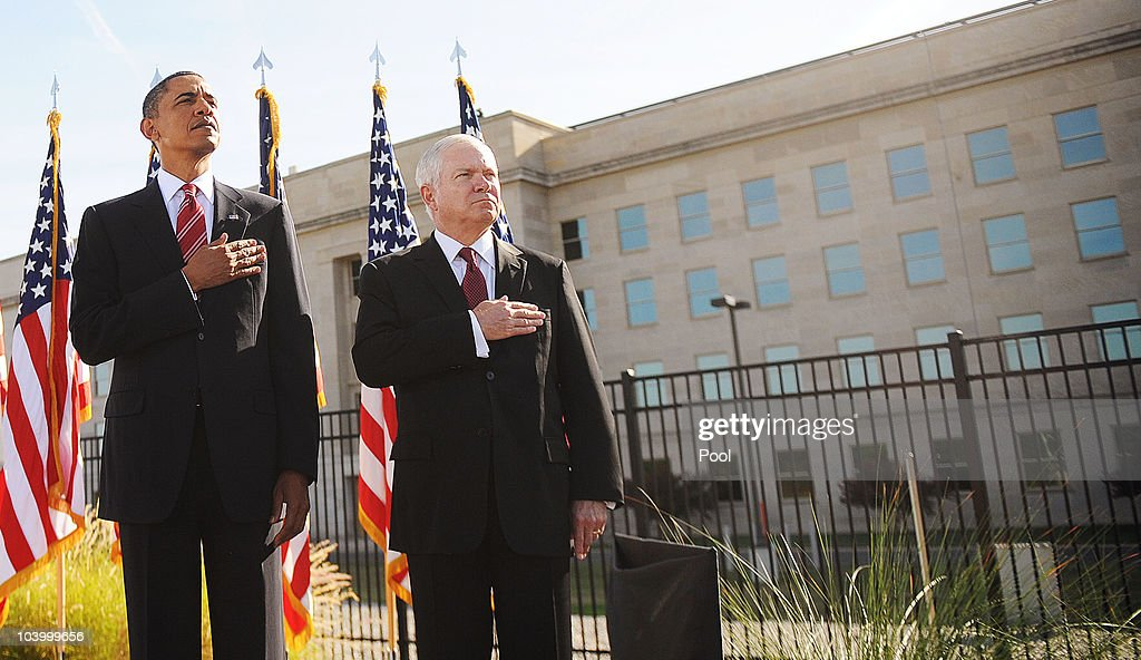 President Obama Attends 9/11 Anniversary Memorial At The Pentagon