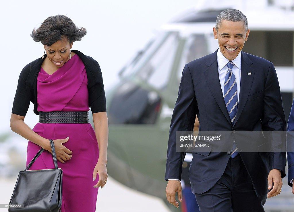 US-POLITICS-BUSH-OBAMA : News Photo
