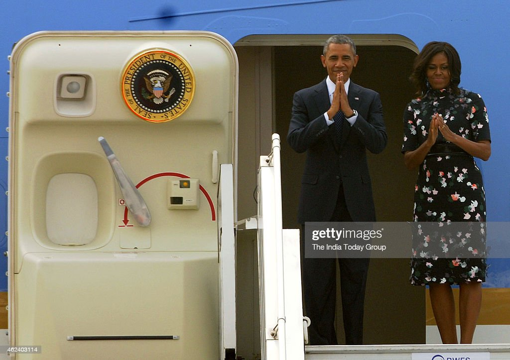 Obama's India visit : News Photo