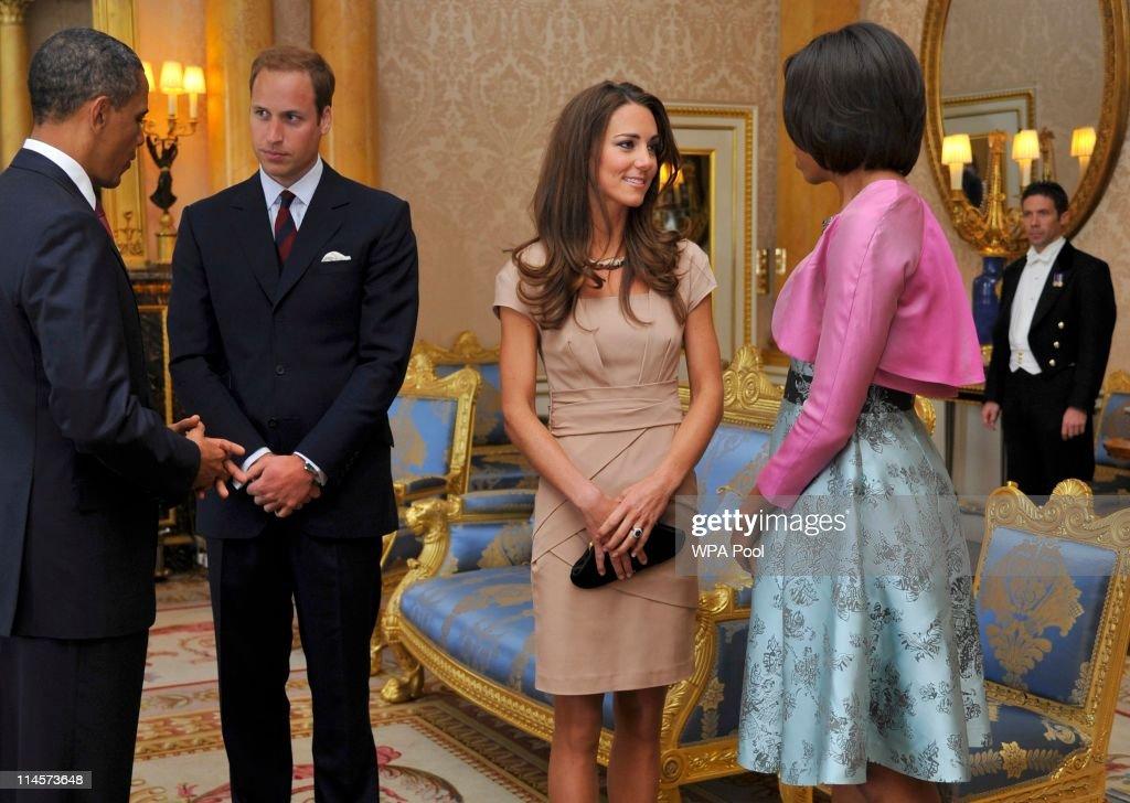 US President Barack Obama Visits The UK - Day One : News Photo