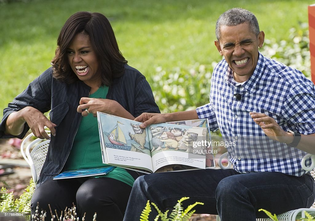 US-POLITICS-EASTER-WHITEHOUSE : News Photo