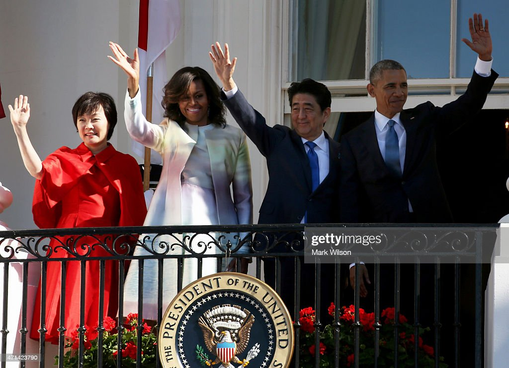 President Obama Welcomes Japanese Prime Minster Shinzo Abe To The White House