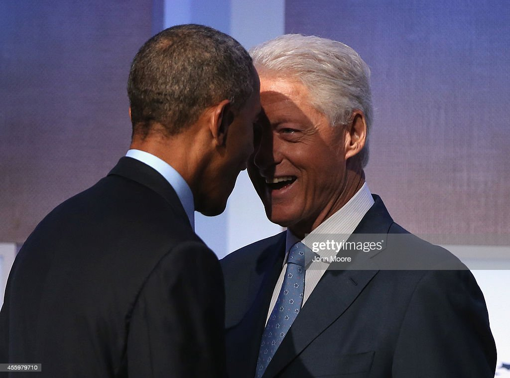 President Obama Speaks At The Annual Clinton Global Initiative : News Photo