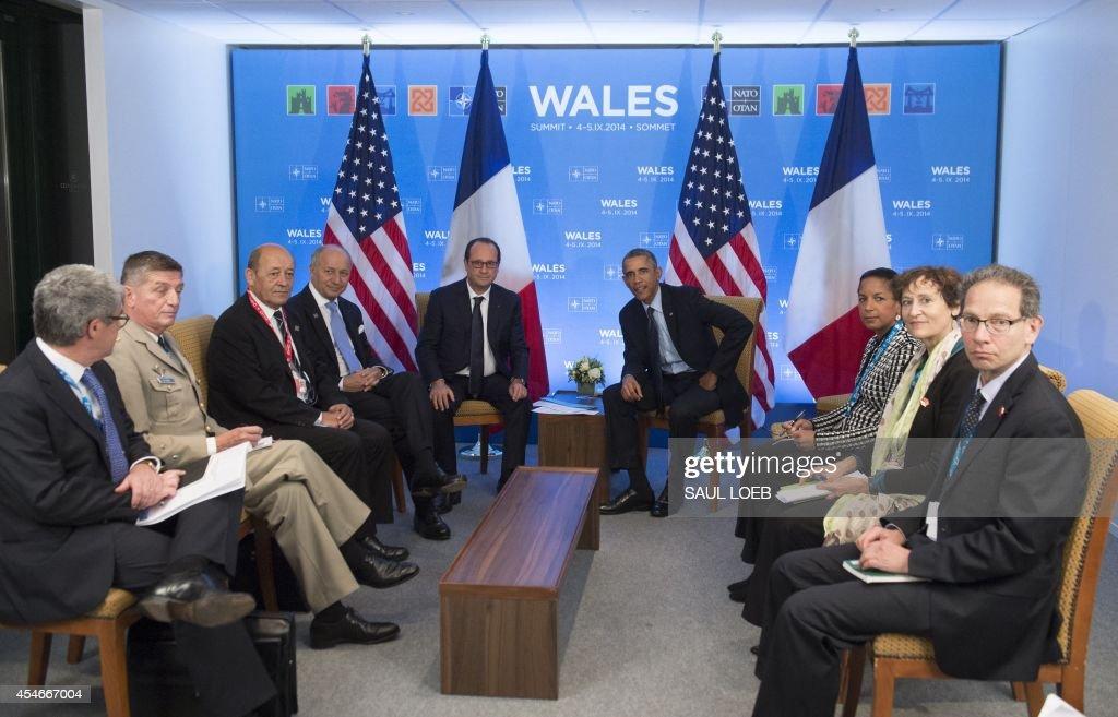 BRITAIN-NATO-SUMMIT : News Photo