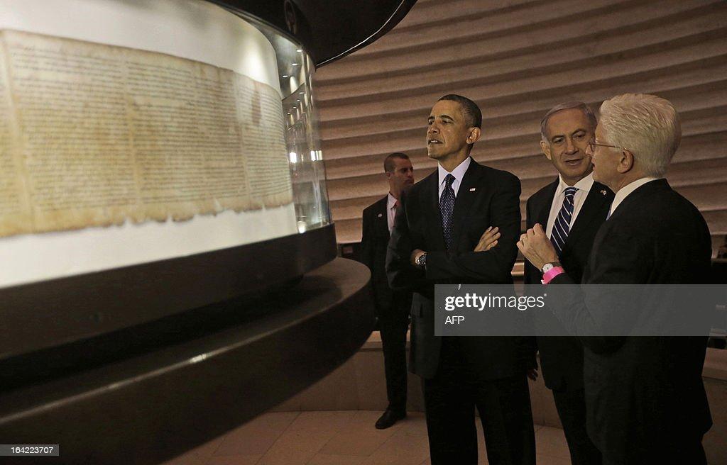 ISRAEL-PALESTINIAN-US-OBAMA-DIPLOMACY : News Photo
