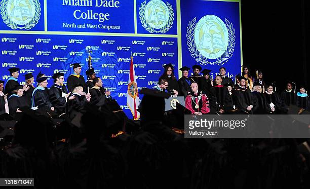 33 President Obama Speaks At Miami Dade College Commencement