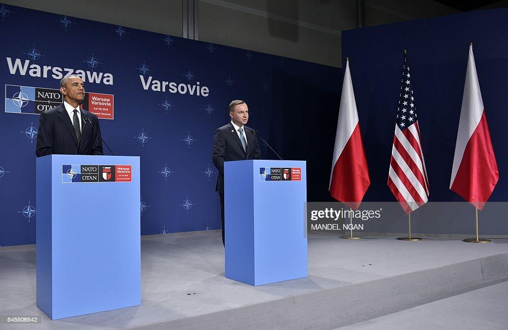 POLAND-NATO-SUMMIT : News Photo