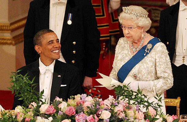 UNS: Queen Elizabeth Meeting 12 US Presidents