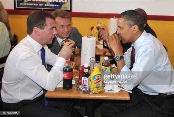US President Barack Obama and Russian President Dmitry ...
