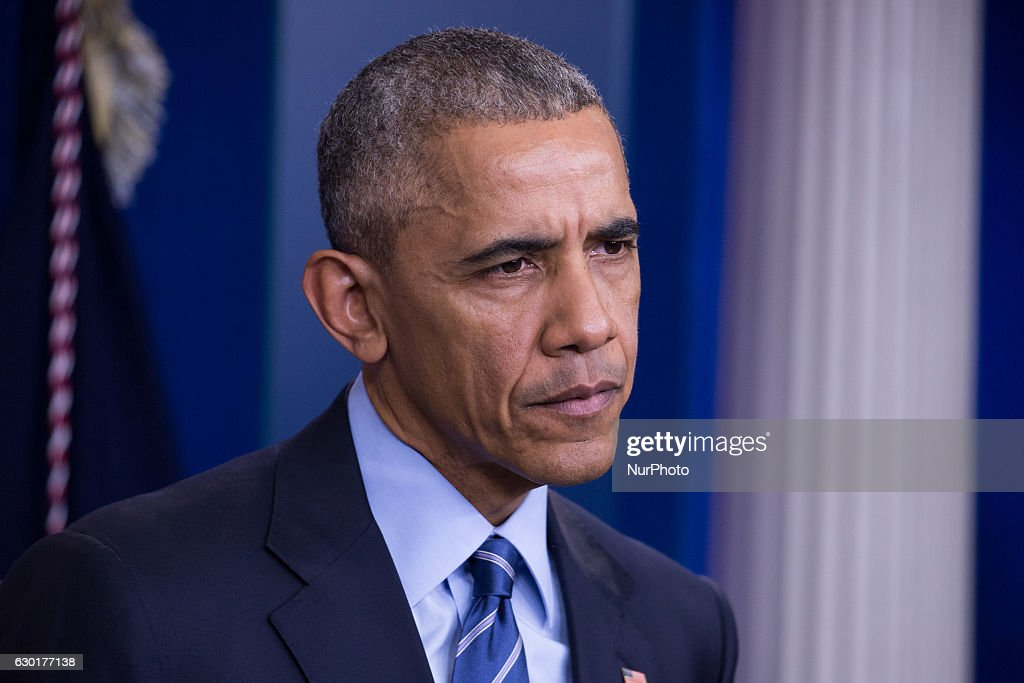 President Obama Holds Year-End Press Conference At The White House : News Photo