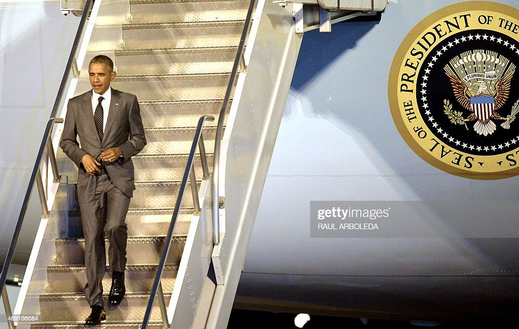 PANAMA-AMERICAS-SUMMIT-ARRIVALS : News Photo