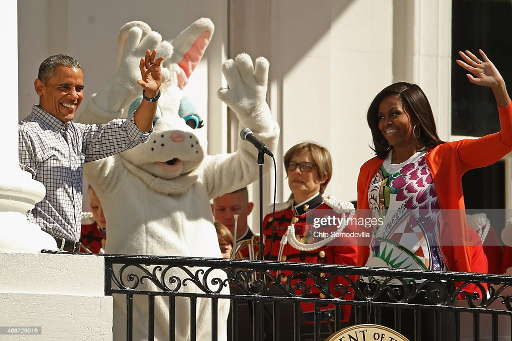 White House Hosts Annual Easter Egg Roll On The South Lawn : News Photo