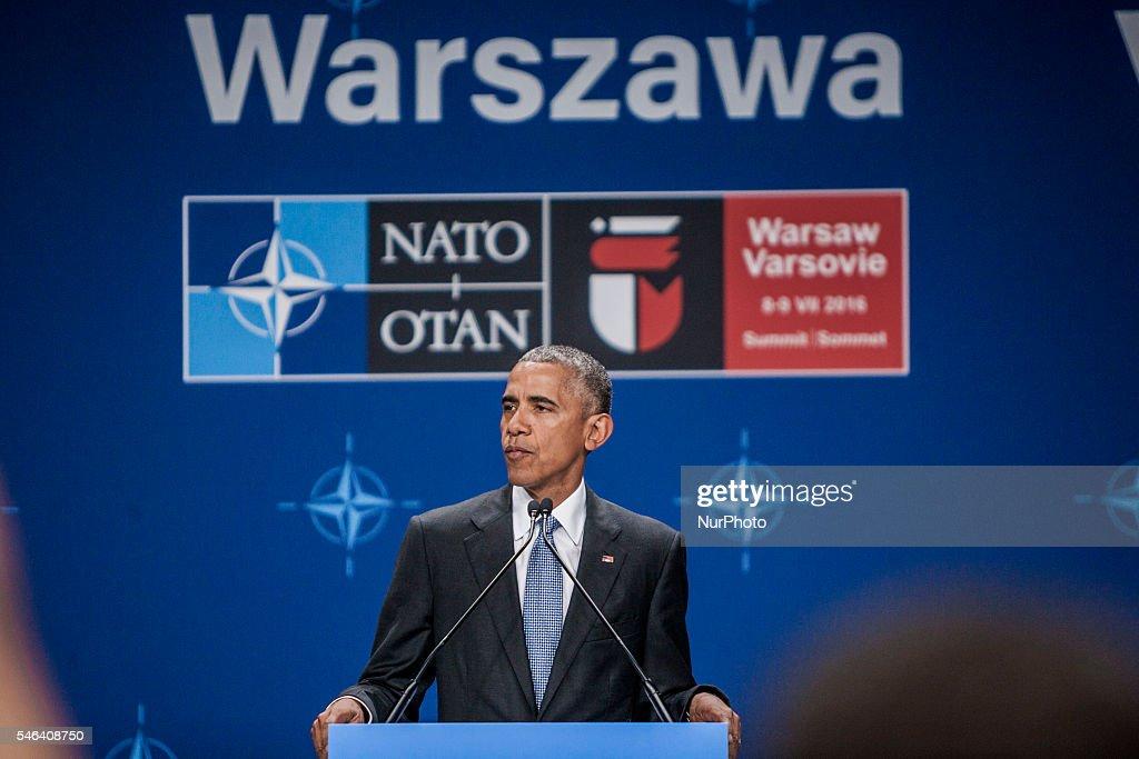 NATO Holds Warsaw Summit : News Photo