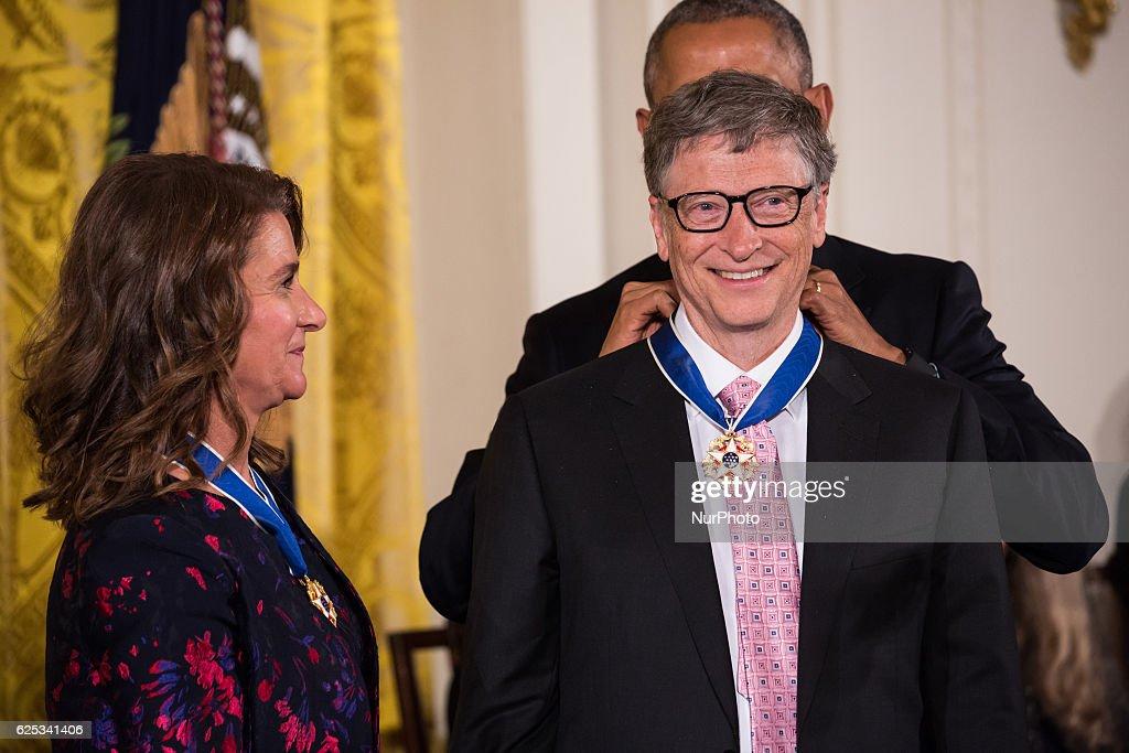 President Obama Awards Presidential Medals of Freedom : News Photo