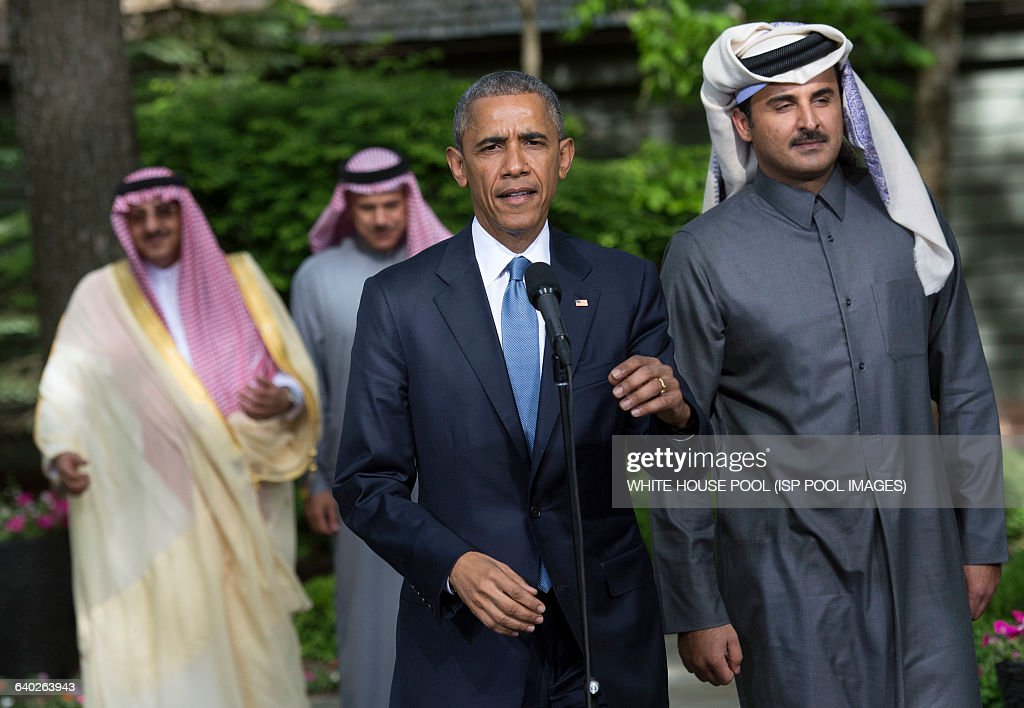 Gulf Cooperation Council Summit at Camp David : News Photo