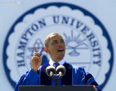 President barack obama delivers the commencement address at hampton picture id98935208?s=170x170
