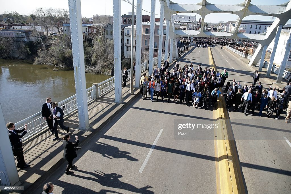 Selma Commemorates 50th Anniversary Of Historic Civil Rights March : Nachrichtenfoto