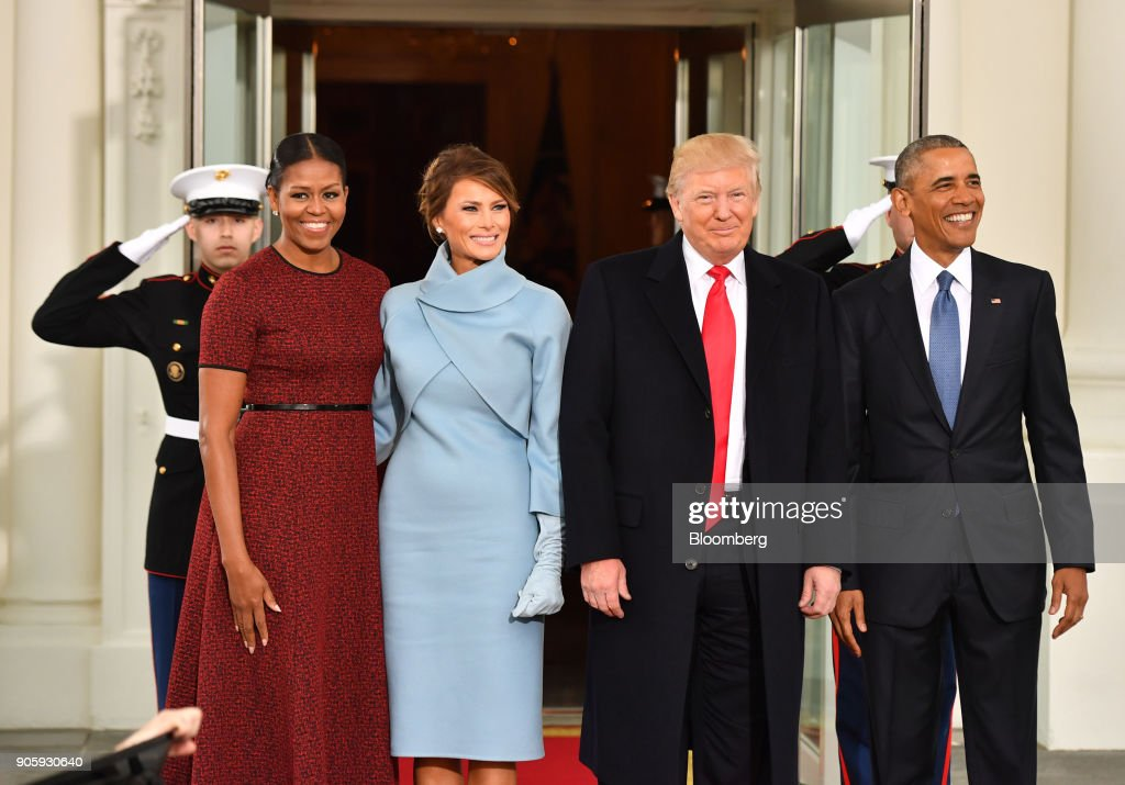 U.S. President Donald Trump's First Year In The Oval Office : News Photo