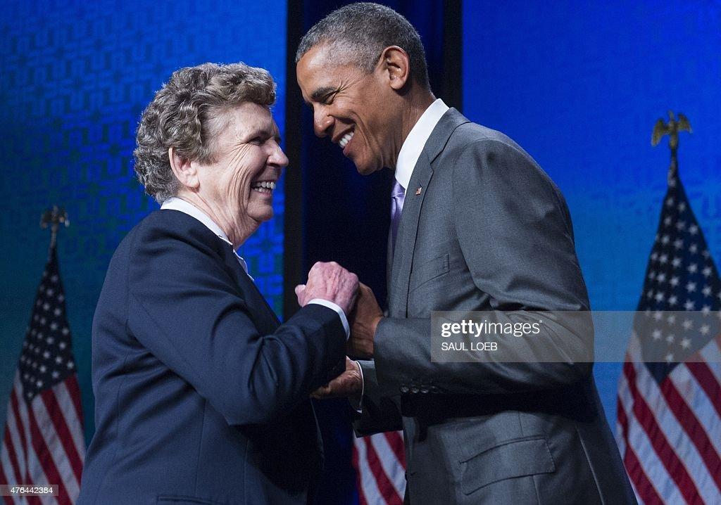 US-POLITICS-OBAMA-HEALTHCARE : News Photo