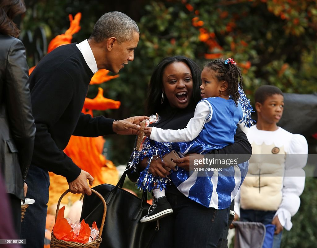 Halloween With The Obamas From a pint-sized pope to a superhuman ...