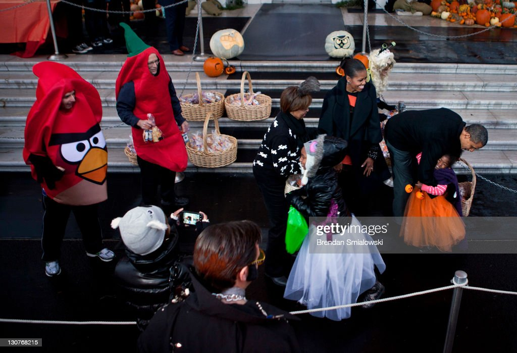 President Obama And The First Lady Host Halloween Party For ...