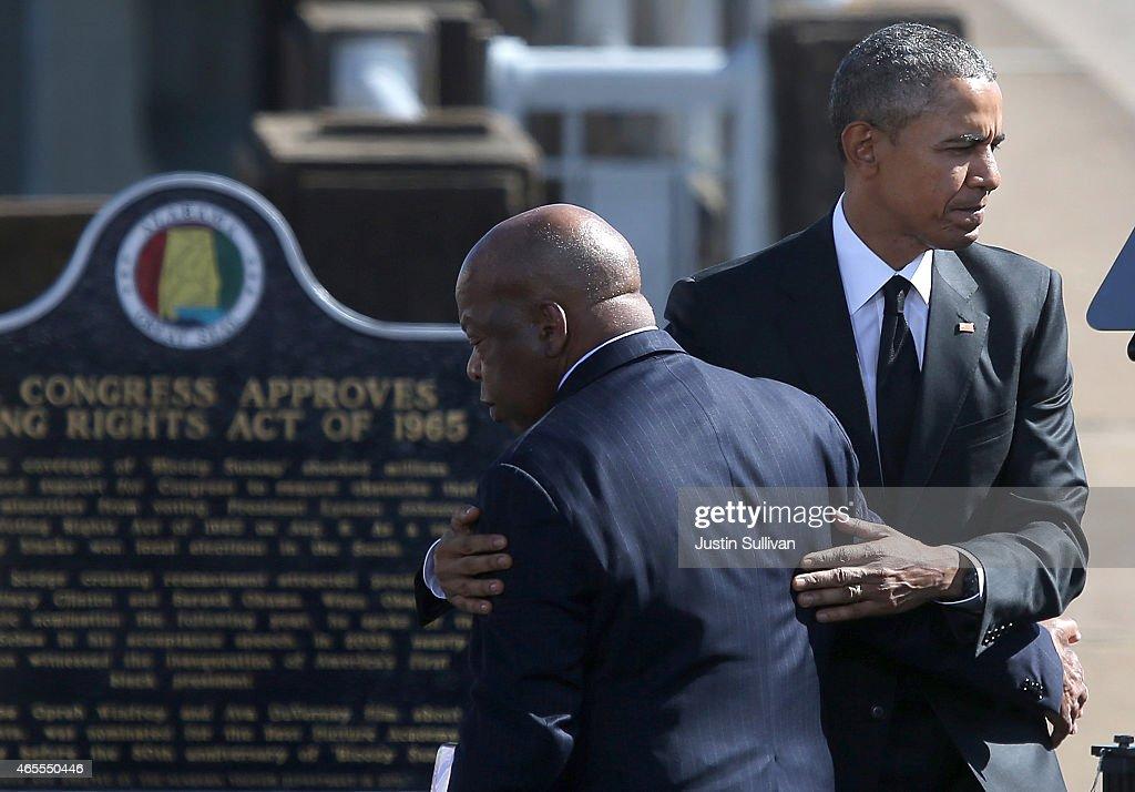 Selma Commemorates 50th Anniversary Of Historic Civil Rights March : News Photo