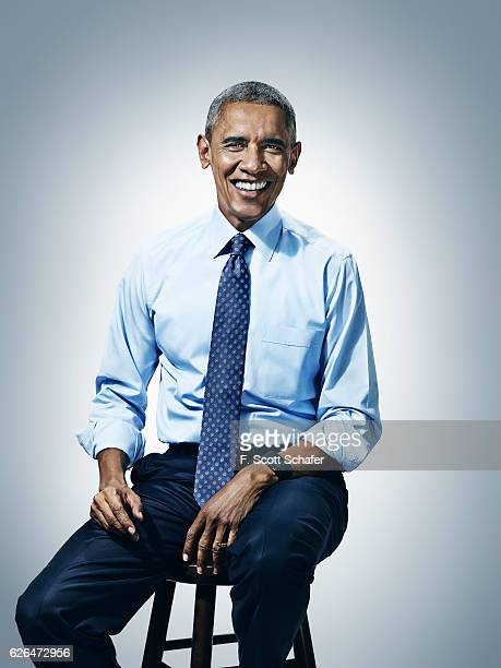 President Barack Obama is photographed for Popular Science on January 4 2016 in Washington DC PUBLISHED IMAGE